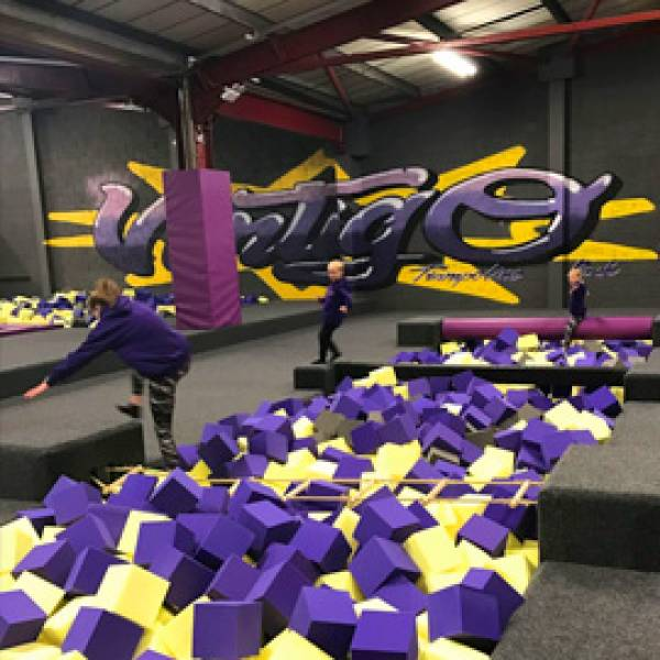 Kiddies Ninja Course
